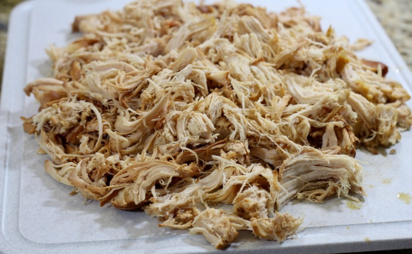 Zesty Shredded Chicken